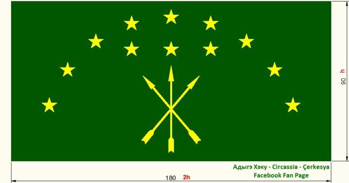 adygea flag adige bayrağı adygea flag adıge bayrağı